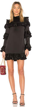 Frame Ruffle Dress