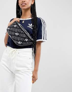 adidas Fanny Pack In All Over Logo Print