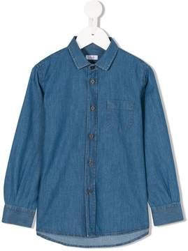 Il Gufo long sleeve denim shirt