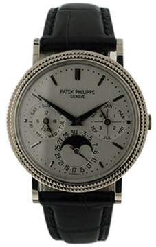 Patek Philippe 5039G Perpetual Calendar Moonphase 18K White Gold 35mm Mens Watch