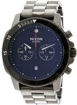 Nixon Men's Ranger Chrono A5491531 Grey Stainless-Steel Japanese Quartz Fashion Watch