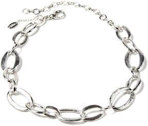Amrita Singh Silvertone Leora Chain Necklace
