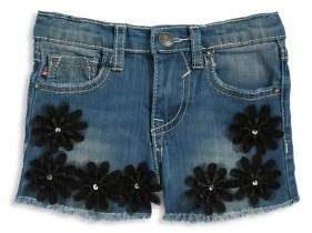 Vigoss Little Girls' Chelsea Denim Shorts