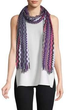 Missoni Multicolored Long Cotton Scarf