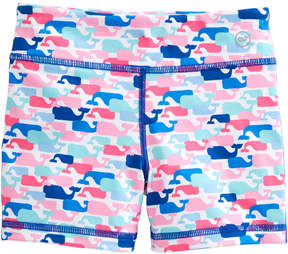 Vineyard Vines Girls Multi Whale Performance Tumble Shorts