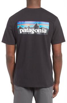 Patagonia Men's 'P-6 Logo' Organic Cotton T-Shirt