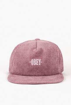 Obey Posted Snapback Hat