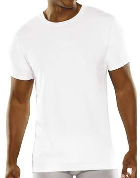 Fruit of the Loom Men's Breathable Crew T Shirt Undershirts, 3 Pack