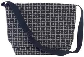 Kate Spade Black & White Canvas Logo Messenger Bag - BLACK - STYLE