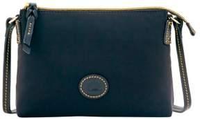 Dooney & Bourke Nylon Crossbody Pouchette Shoulder Bag - GREY - STYLE