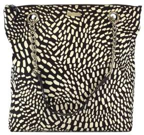 Kate Spade Brown & Beige Print Nylon Tote - KATE SPADE - STYLE