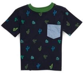 Andy & Evan Little Boy's Cactus Pocket Tee