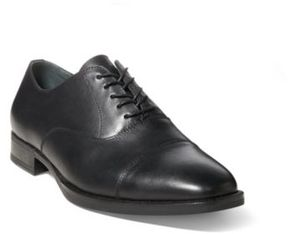 Ralph Lauren Alesky Calfskin Oxford Shoe Black 12