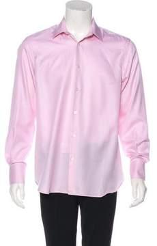 Balenciaga Woven Dress Shirt w/ Tags