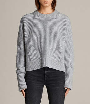 AllSaints Pierce Crew Sweater