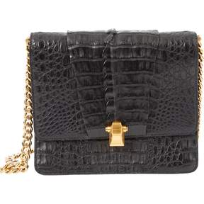 Roberto Cavalli Black Leather Handbag