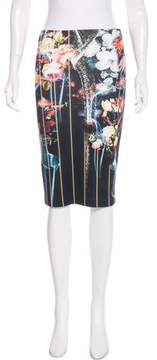 Clover Canyon Digital Print Pencil Skirt