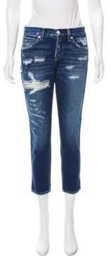 Amo Mid-Rise Tomboy Crop Jeans