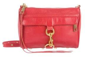 Rebecca Minkoff Leather M.A.C. Crossbody Bag - RED - STYLE