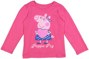 Peppa Pig Pink Heart Tee - Toddler