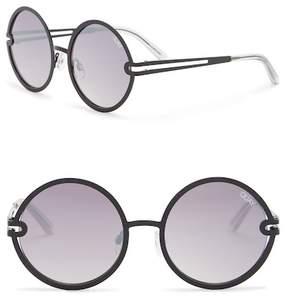 Quay 60mm Ukiyo Round Sunglasses