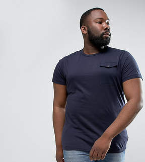 French Connection PLUS T-Shirt with Flap Pocket