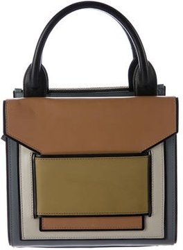Pierre Hardy Leather Carryover Mini Box Tote