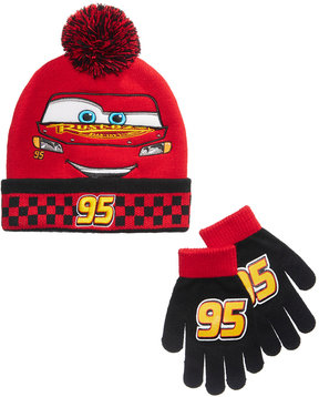 Disney 2-Pc. Cars Hat & Gloves Set, Toddler Boys (2T-5T)
