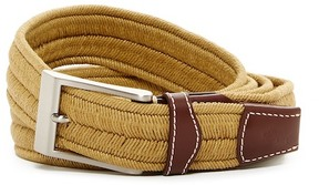 Tommy Bahama Braided Stretch & Leather Belt