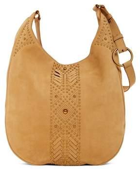 Frye Addie Oversized Studded Leather Hobo Bag