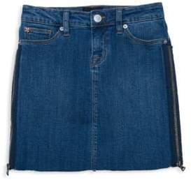 Hudson Girl's Olivia Zip Denim Mini Skirt
