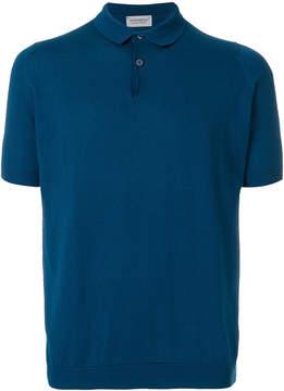 John Smedley Rhodes knitted polo shirt