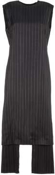 Aalto Pinstripe Long Dress