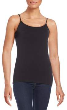 Saks Fifth Avenue BLACK Stretch-Cotton Camisole