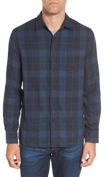 Grayers Men's Helsby Double Cloth Plaid Sport Shirt
