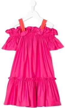 Il Gufo tiered dress