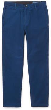 Blue Blue Japan Cropped Cotton Trousers
