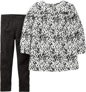 Carter's Baby Girls Animal Pants Set