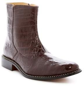 Giorgio Brutini Horn Back Croc-Embossed Boot