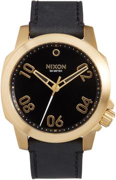 Nixon Men's Ranger 40 Leather Watch
