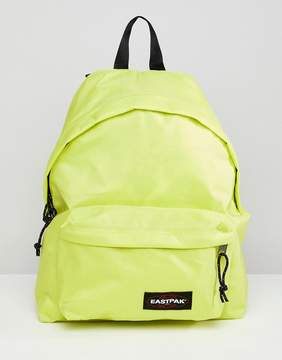 Eastpak Yellow Padded Pak'r Backpack