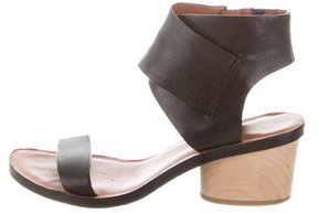 Derek Lam 10 Crosby Leather Multistrap Sandals