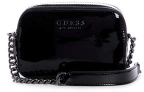GUESS Robyn Patent Faux-Leather Crossbody