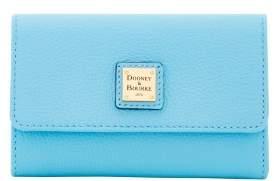 Dooney & Bourke Belvedere Flap Wallet - CARIBBEAN BLUE - STYLE