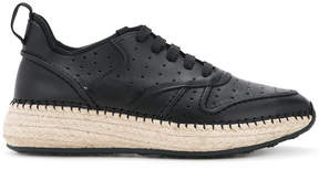 Tod's contrast-sole trainers
