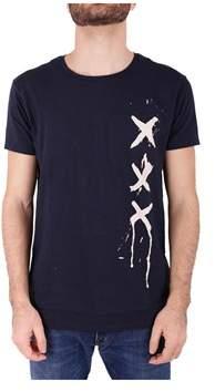 Scotch & Soda Men's Black Cotton T-shirt.