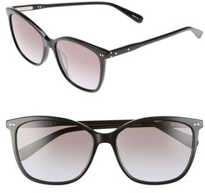 Bobbi Brown Women's The Lara 56Mm Cat Eye Sunglasses - Black