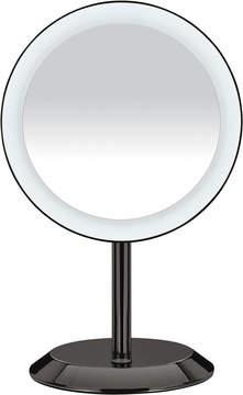 Conair Black Chrome 5X LED Mirror