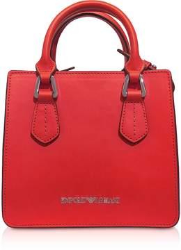 Emporio Armani Red Mini Tote Bag