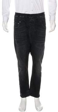 R 13 Cropped Jogger Jeans